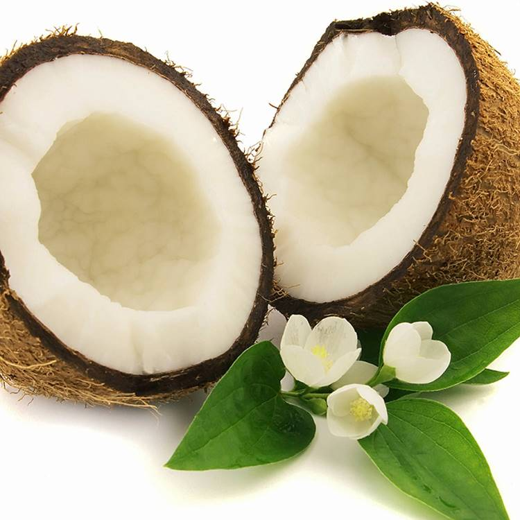 Coconut (with its natural fragrance)