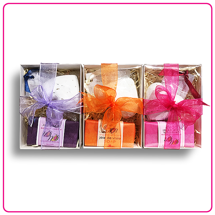 Gift box: Bath Bomb & Soap