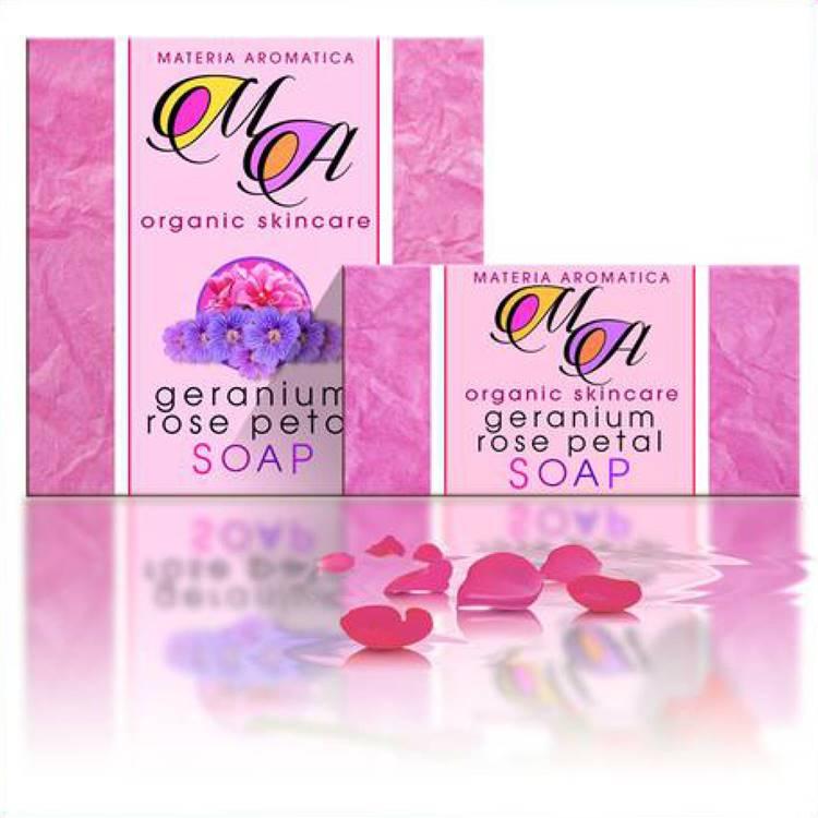 Geranium & Rose petals Soap
